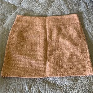 The Limited Tweed Mini Skirt